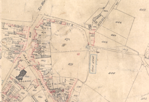 St John's Tithe map, 1841 With thanks to Worcestershire Record Office