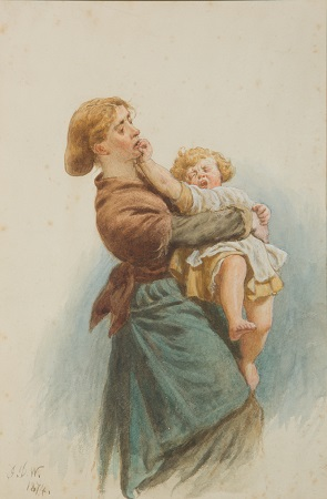 web Watson Mother and Child (c) Museums Worcestershire